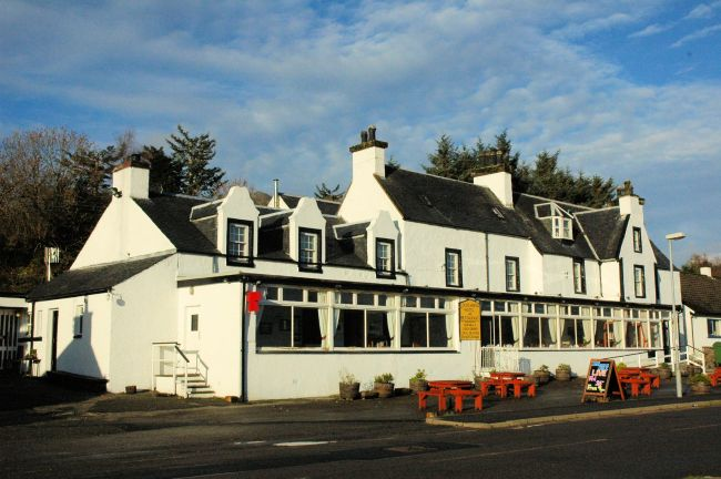 The Lochcarron Hotel Is A Family Run Standing In Superb Loch Side Position